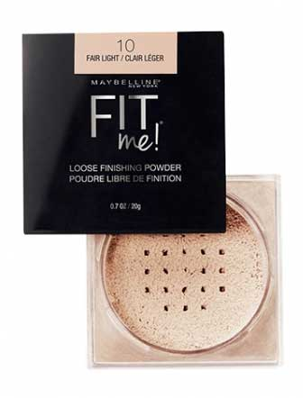 Bedak Untuk Kulit Sensitif - Maybelline Fit Me Loose Finishing Powder