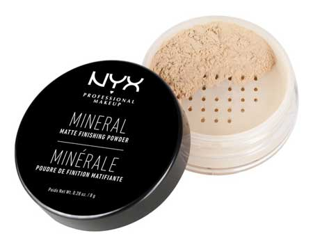 Bedak Untuk Kulit Sensitif - NYX Mineral Finishing Powder