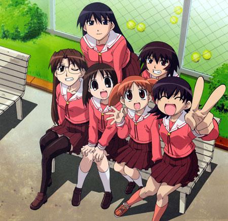 Daftar Anime Komedi Terlucu - Azumanga Daioh