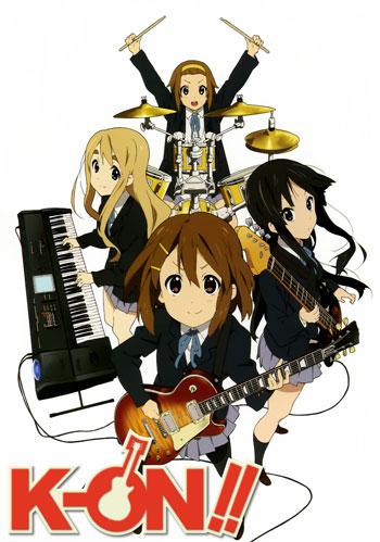 Daftar Anime Komedi Terlucu - K-On!