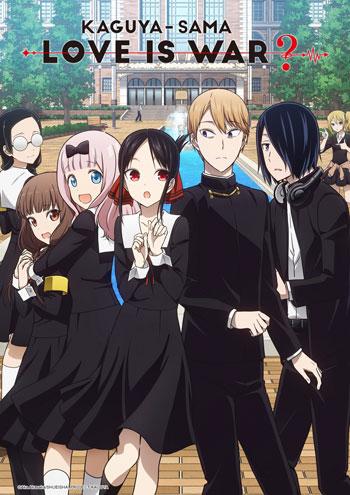 Daftar Anime Komedi Terlucu - Kaguya-sama: Love Is War