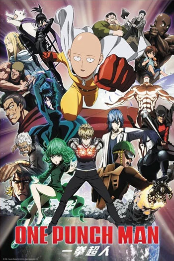 Daftar Anime Komedi Terlucu - One Punch Man