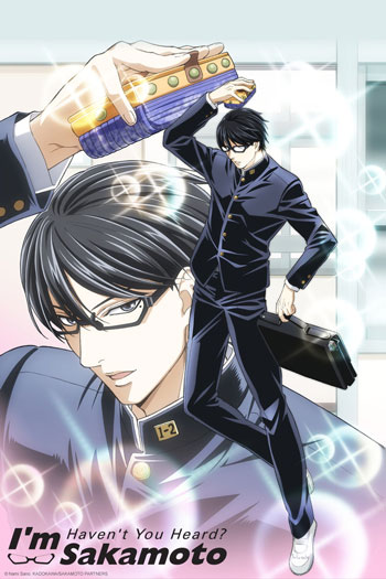 Daftar Anime Komedi Terlucu - Sakamoto desu ga?