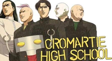 Daftar Anime Komedi Terlucu - Sakigake!! Cromartie Koukou