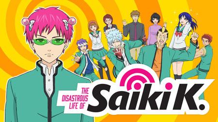 Daftar Anime Komedi Terlucu - The Disastrous Life of Saiki K.
