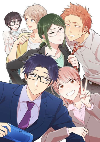 Daftar Anime Komedi Terlucu - Wotakoi: Love is Hard for Otaku