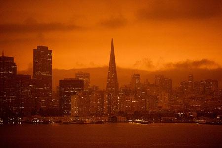 Fakta Langit Berwarna Aneh di California Yang Menakutkan, Mirip Planet Mars