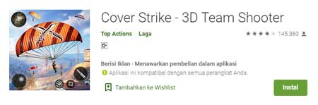 Game FPS Terbaik Di HP Android - Cover Strike