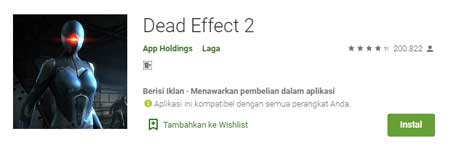 Game FPS Terbaik Di HP Android - Dead Effect 2