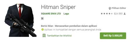 Game FPS Terbaik Di HP Android - Hitman Sniper