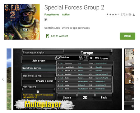 18 Game Multiplayer Offline Terbaik 2020 - Special Forces Group 2