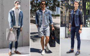 Inspirasi Outfit Jaket Jeans Pria