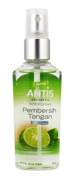 Merk Hand Sanitizer Bagus - ANTIS Antiseptic Pembersih Tangan