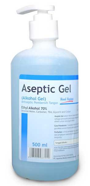 Merk Hand Sanitizer Bagus - Onemed Aseptic Gel