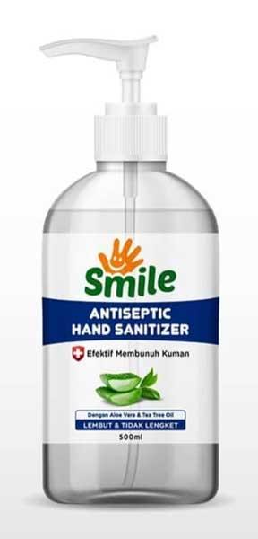 Merk Hand Sanitizer Bagus - Smile Antiseptic Hand Sanitizer