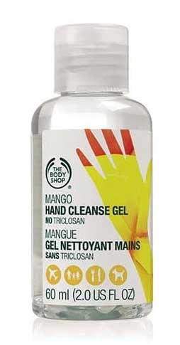 Merk Hand Sanitizer Bagus - The Body Shop Mango Hand Cleanse Gel