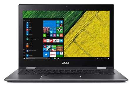 Merk Laptop Yang Bagus Untuk Desain Grafis - Acer Spin 5 SP513 52N i5 8250U