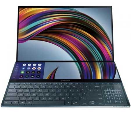 Merk Laptop Yang Bagus Untuk Desain Grafis - Asus ZenBook Pro Duo i7