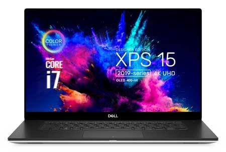 Merk Laptop Yang Bagus Untuk Desain Grafis - Dell XPS 15 7590 UHD 4K i7 9750H