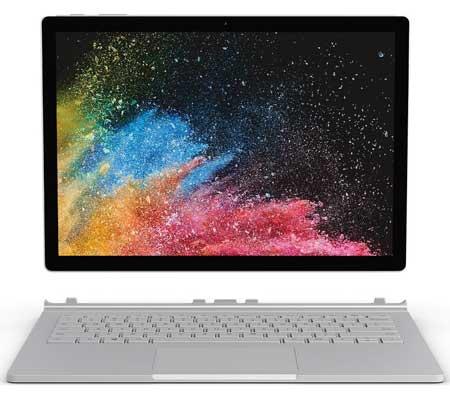 Merk Laptop Yang Bagus Untuk Desain Grafis - Microsoft Surface Book 2
