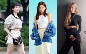 OOTD crop top ala artis Korea