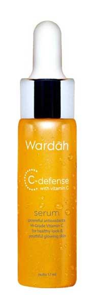 Produk Skincare Wardah Untuk Kulit Berminyak - Wardah C-Defense Serum