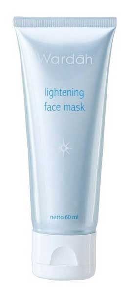 Produk Skincare Wardah Untuk Kulit Berminyak - Wardah Lightening Face Mask