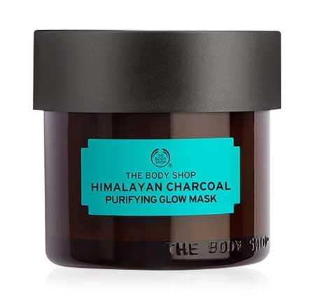 Produk Untuk Mengatasi Komedo Dan Pori-pori - The Body Shop Himalayan Charcoal Purifying Glow Mask