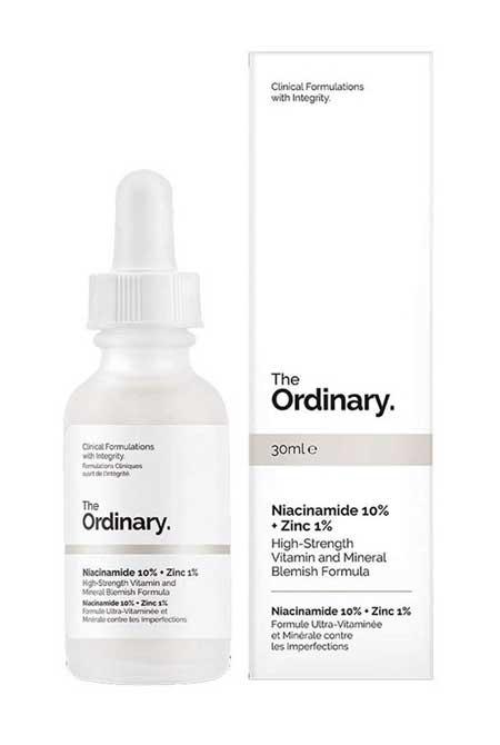 Produk Untuk Mengatasi Komedo Dan Pori-pori - The Ordinary Niacinamide 10% Zinc PCA 1%