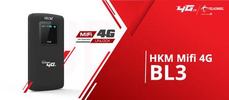 Rekomendasi Modem Wifi Terbaik 2020 - Modem Telkomsel MiFi HKM BL-03