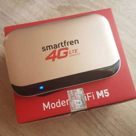 Rekomendasi Modem Wifi Terbaik 2020 - Smartfren Modem WiFi M5