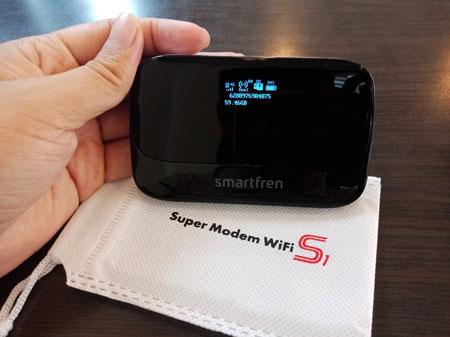 Rekomendasi Modem Wifi Terbaik 2020 - Smartfren Super Modem WIFI S1