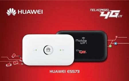 Rekomendasi Modem Wifi Terbaik 2020 - Telkomsel MiFi 4G LTE Huawei E5573