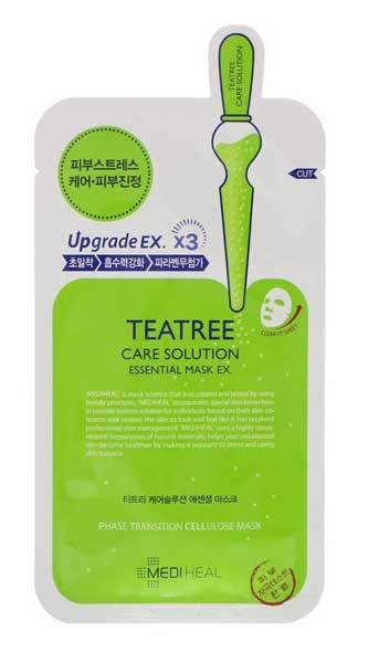 Sheet Mask Terbaik - Mediheal Teatree Care Solution Essential Mask EX
