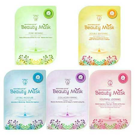Sheet Mask Terbaik - Mentholatum Beauty Mask