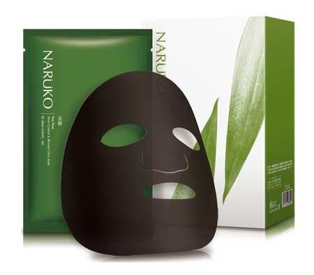 Sheet Mask Terbaik - Naruko Tea Tree Shine Control & Blemish Clear Mask