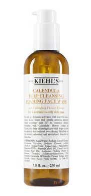 Skincare Untuk Kulit Kusam - Kiehl's Calendula Deep Cleansing Foaming Facial Wash