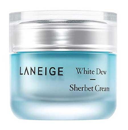 Skincare Untuk Kulit Kusam - Laneige White Dew Sherbet Cream