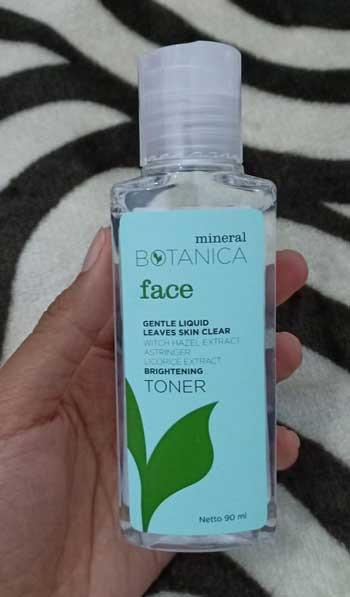 Skincare Untuk Kulit Kusam - Mineral Botanica Brightening Toner