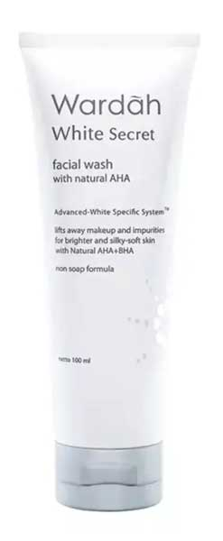 Skincare Untuk Kulit Kusam - Wardah White Secret Facial Wash