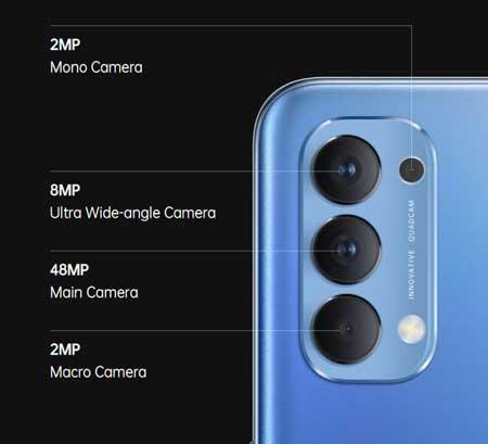 Spesifikasi Oppo Reno 4 - Kamera