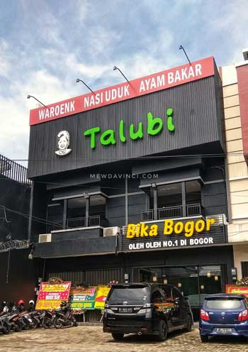 Tempat Wisata Kuliner Bogor - Waroenk Talubi