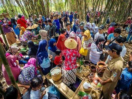 Tempat Wisata Kuliner Magelang - Pasar Kebon Watu gede