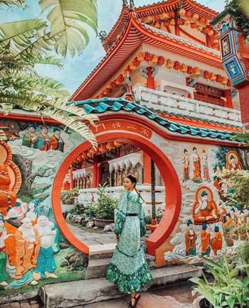 Tempat Wisata Malaysia Terpopuler Dan Instagramable - Kuil Kek Lok Si