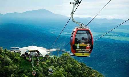 Tempat Wisata Malaysia Terpopuler Dan Instagramable - Langkawi Cable Car