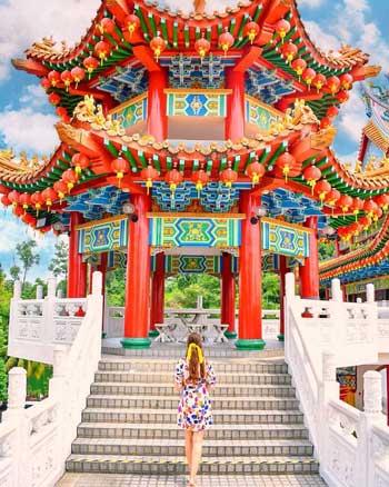 Tempat Wisata Malaysia Terpopuler Dan Instagramable - Thean Hou Temple