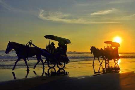 Tempat Wisata Paling Angker Di Indonesia - Pantai Parangkusumo