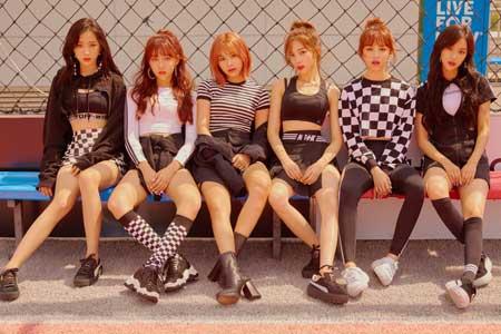 idol kpop terpopuler 2020 - APRIL