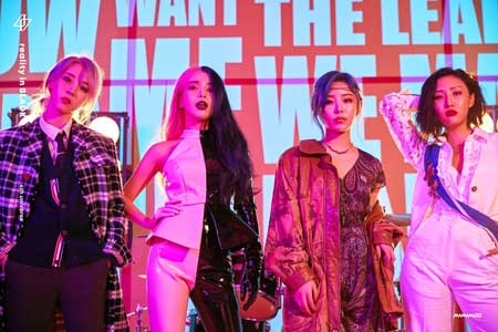 idol kpop terpopuler 2020 - MAMAMOO