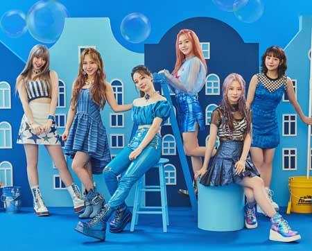 idol kpop terpopuler 2020 - Rocket Punch